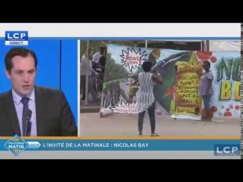 """Nicolas BAY (FN) invité de la MATINALE LCP (28/03/17)""""Marine LE PEN est ..."""