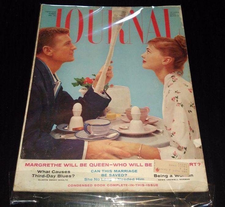 Old Ladies Home Journal - October 1957 - Vintage Ads - MB1