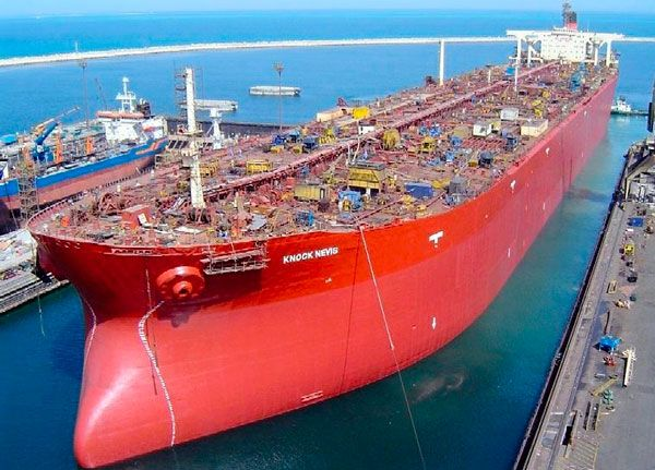 The World S Largest Ship 565 000 Tonne Knock Nevis Has Been Sold