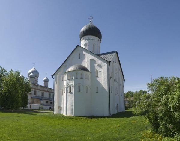 Церковь Спаса Преображения на Ильине. Великий Новгород