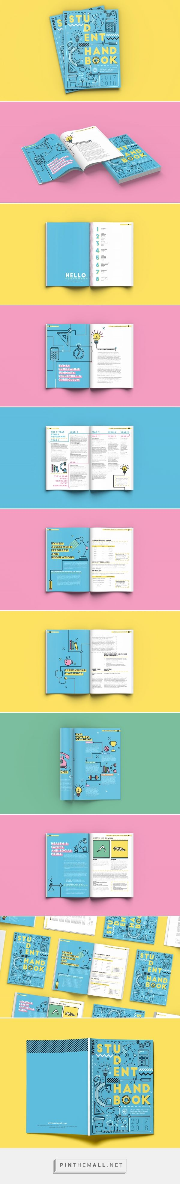 UoE Vet School Student Handbook on Behance - created via https://pinthemall.net