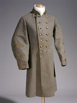 Confederate Colonel John R. Lane's Uniform Frock Coat ...