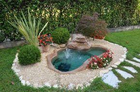 Crearsi un piccolo oasi in giardino! 20 idee stupende + Tutorial…