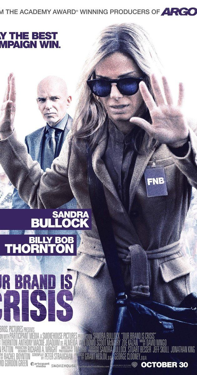 (2015) Directed by David Gordon Green. With Sandra Bullock, Billy Bob Thornton, Anthony Mackie, Joaquim de Almeida. A battle-hardened American political consultant is sent to help re-elect a controversial president in Bolivia, where she must compete with a long-term rival working for another candidate.
