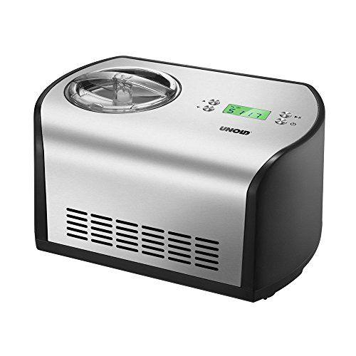 Unold 48865 ice cream maker - ice cream makers (Black, Stainless steel, 220 - 240 V)