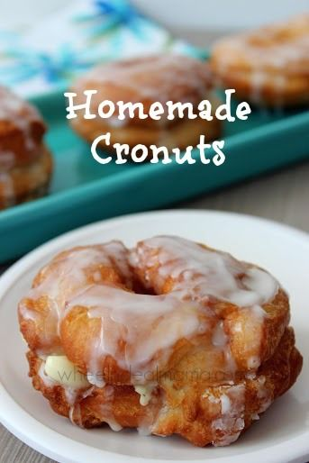 Homemade Cronuts Recipe