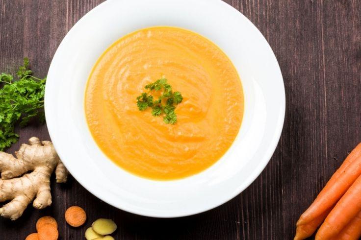 Potage aux carottes, une version simple et rapide