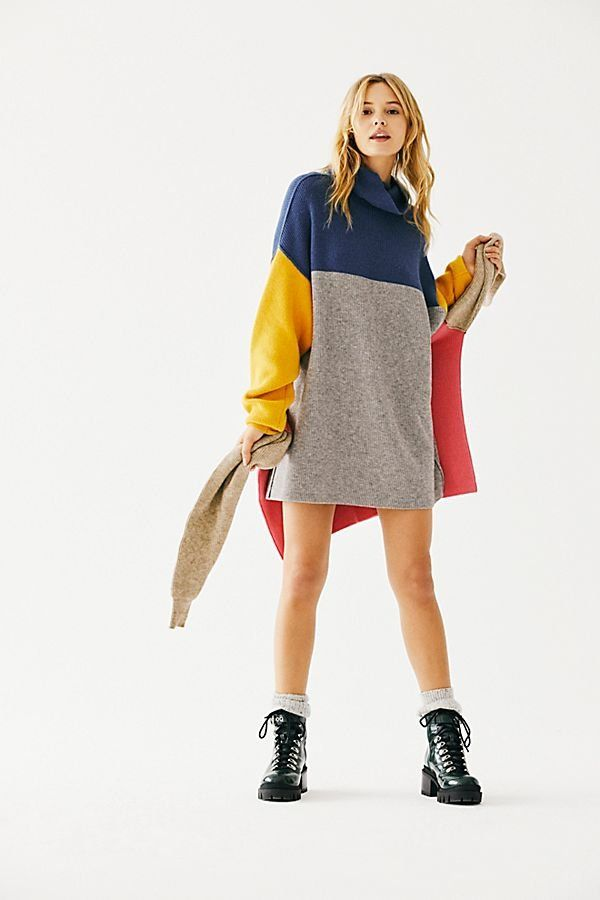 e0eee7e0ca Softly Structured Color-Blocked Tunic in 2019