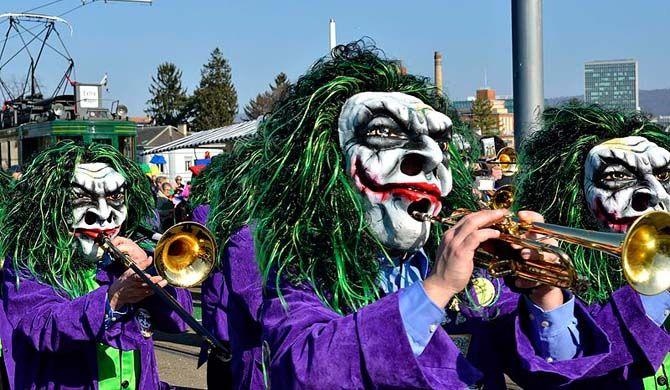 The Carnival of Basel (German: Basler Fasnacht) is the biggest carnival in Switzerland and takes place annually between February and March in Basel. It has been... Get more information about the Carnival of Basel on Hostelman.com #event #Switzerland #culture #travel #destinations #tips #packing #ideas #budget #trips #carnival