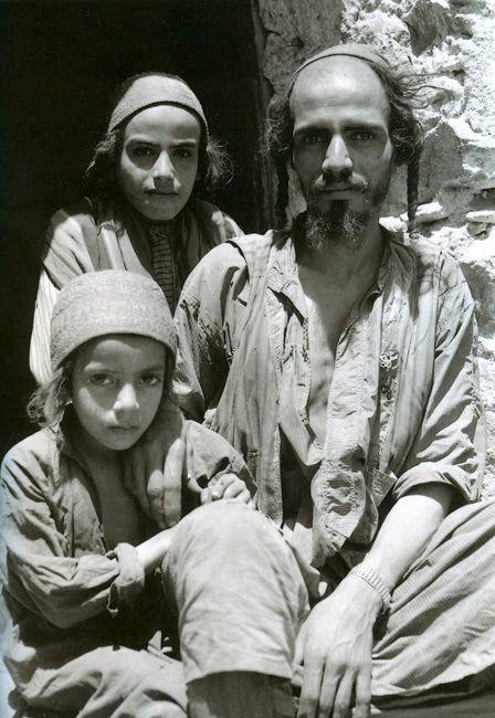 . Iraqi Jews of the Hajar region, 1950. أهلاً وسهلاً