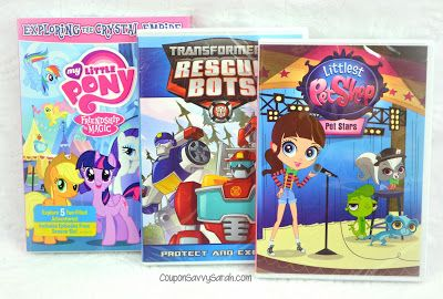 February TV Round-up featuring My Little Pony, Littlest Pet Shop, Transformers DVD - #Giveaway Ends 2/27/17! #sponsored  http://couponsavvysarah.blogspot.com/2017/02/february-tv-round-up-featuring-my.html