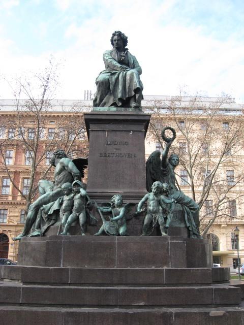 Ludwig van Beethoven Monument, Vienna, Austria | Vienna ...