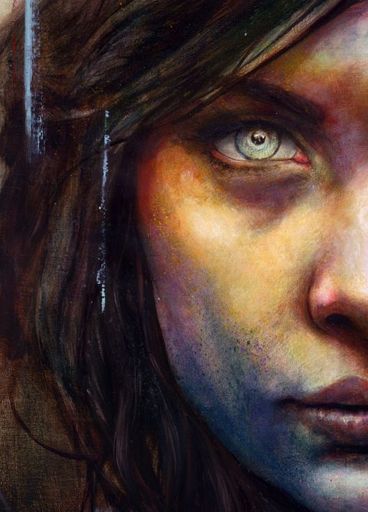 Michael Shapcott - A portrait a day for a year project.