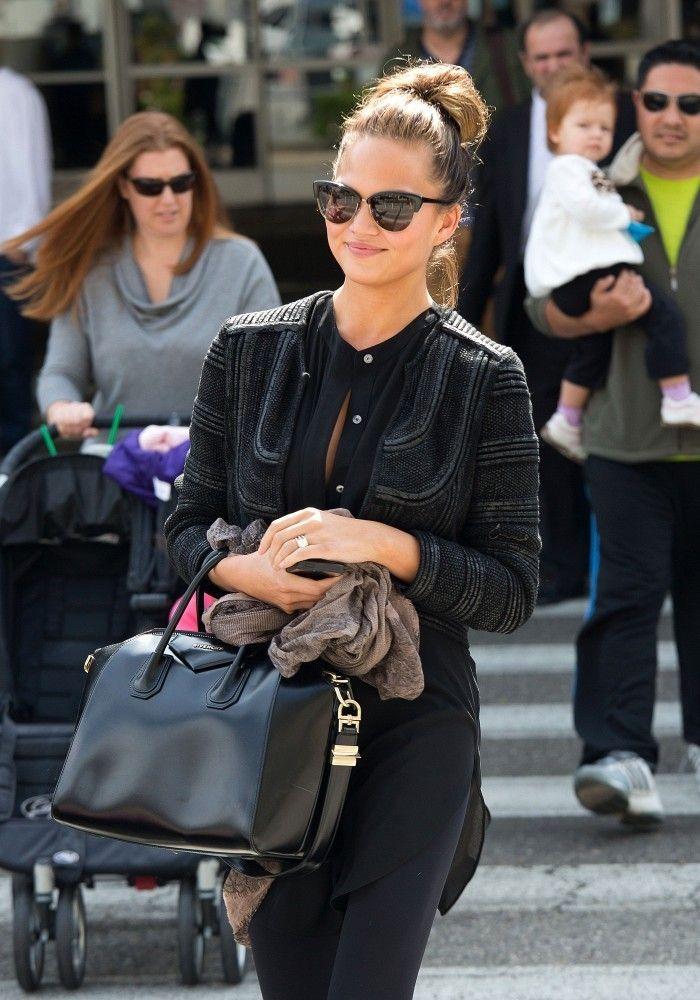 More Pics of Chrissy Teigen Wayfarer Sunglasses