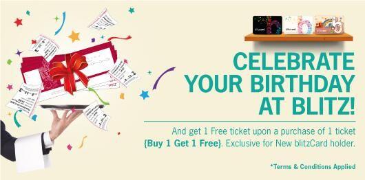 blitzmegaplex: Promo Blitzcard Brirthday this Month, Buy 1 Get 1 @blitzmegaplex