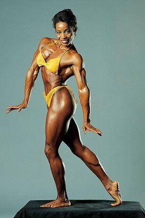 Black Bodybuilder Female Women Bodybuilding Take pleasure ...
