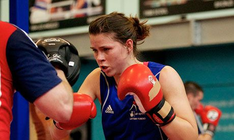 Women boxers take on 'bastion of masculinity' in first ever Olympic bouts