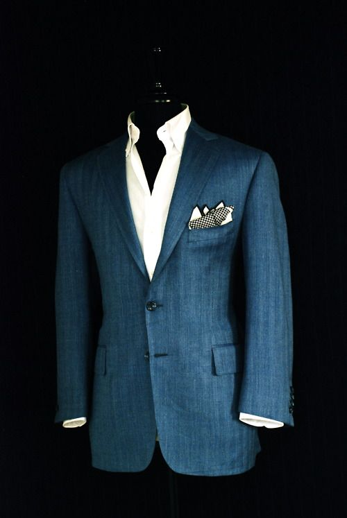 Tailoring can change a good suit into a wonderful suit.
