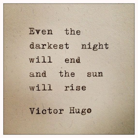 Victor Hugo Quote