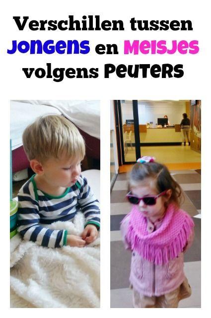 """""""Mama, ik wil een jongen zijn"""" over de verschillen tussen jongens en meisjes volgens peuters - Mamaliefde.nl:"""