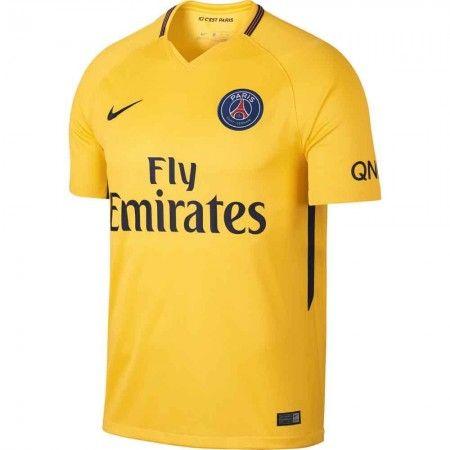 PSG Udebanetrøje 17-18 Kort ærmer #Billige #Fodboldtrøjer