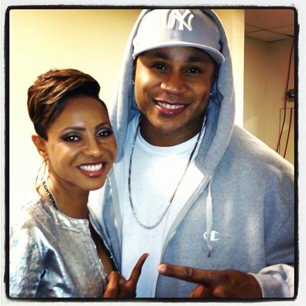 Veteran Hip Hop Rappers MC Lyte and LL Cool J
