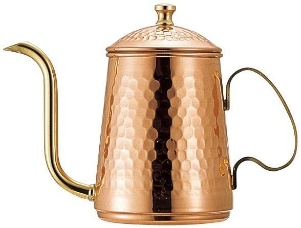 Japan Kalita Coffee Drip Kettle Copper Iron Pot 700 ml Japanese Home Kitchen
