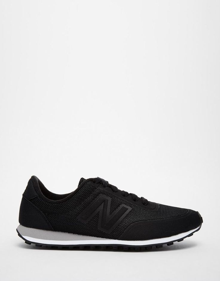 New Balance | New Balance 410 Black Sonic Trainers at ASOS