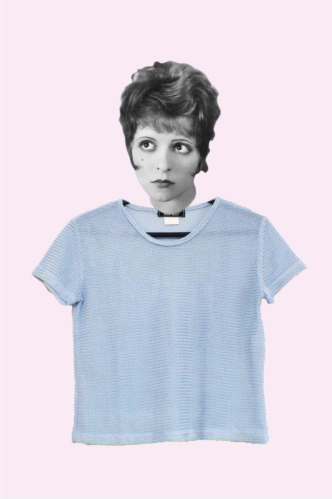 Blusa azul de tricô! 4 brechós online para fazer bons negócios