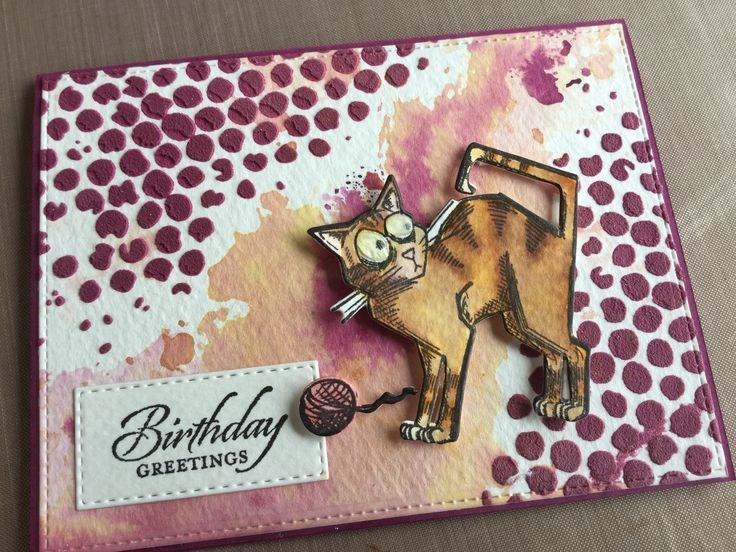 Created by Vicky Clayton - Tim Holtz Crazy Cats