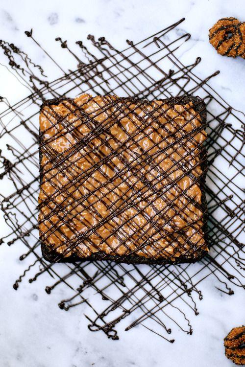 choccoberry:  Samoa Brownies
