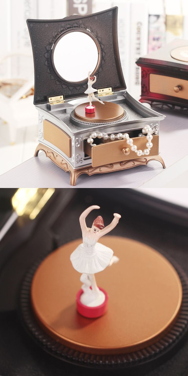 Classical music box. Decorate your home and complement the interior. Music is life. Price $17.84 #Decoration #Music