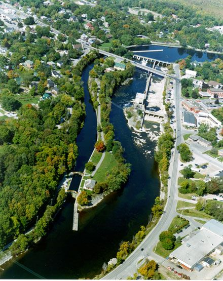 Trent-Severn Waterway National Historic Site of Canada: Lock 26 - Lakefield - Ontario