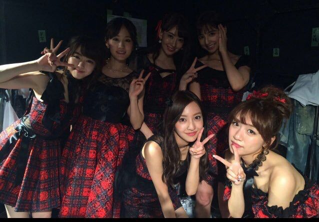Shinoda Mariko, Kojima Haruna, Minegishi Minami, Takahashi Minami, Itano Tomomi, Maeda Atsuko