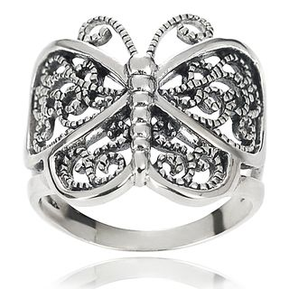 @Overstock.com - Tressa Sterling Silver Butterfly Wrap Ring - Vintage-style wrap-around butterfly ringSterling silver jewelryClick here for ring sizing guide  http://www.overstock.com/Jewelry-Watches/Tressa-Sterling-Silver-Butterfly-Wrap-Ring/2548652/product.html?CID=214117 $22.94