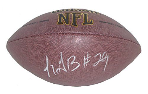 LeGarrette Blount Autographed / Signed NFL Wilson Football w/ Proof Photo, New England Patriots, Pittsburgh Steelers, Tampa Bay Buccaneers,…