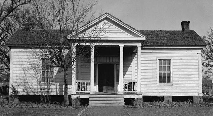 Gov. Joseph Sayers House in Bastrop County, Texas.