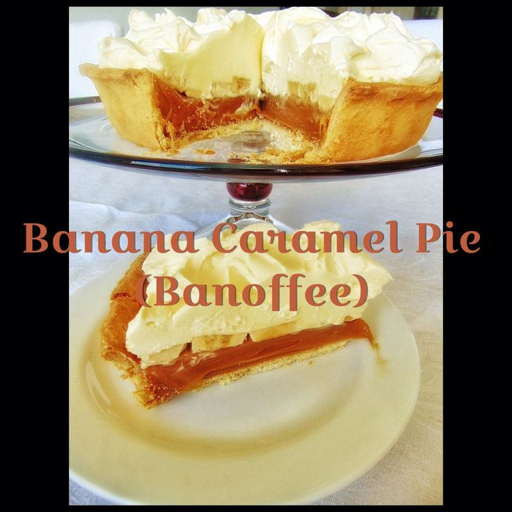 Banana Caramel Pie - Banoffee (Thermomix Method Included)