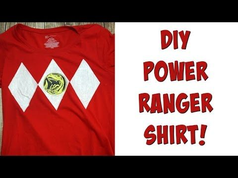 DIY Power Rangers Shirt! - Some of This and That