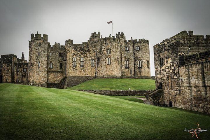 Alnwick Castle of Harry Potter