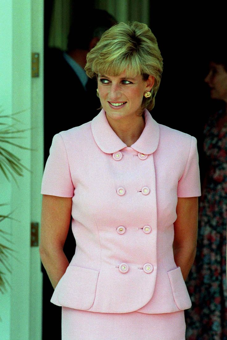 Diana was in Buenos Aires during her official visit to Argentina in November 1995.
