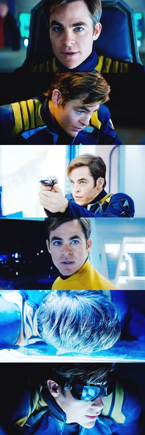 "first teaser trailer for ""Star Trek Beyond"" released today. Chris is channelling Shatner like nobody's business ... ! :-D"