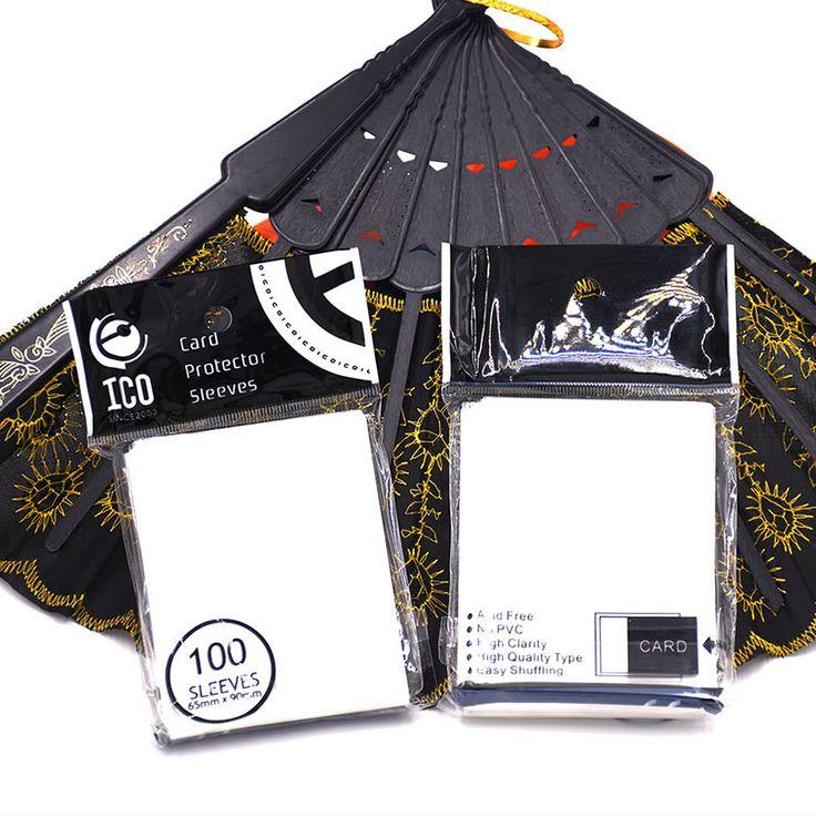100 pcs/pack Lengan Kartu TCG Kartu Protector Pokmen Barrie Magic The Gathering Mtg Papan Permainan Sleeves 65*90mm