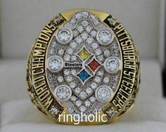 2008 Pittsburgh Steelers Super Bowl Championship Rings Ring