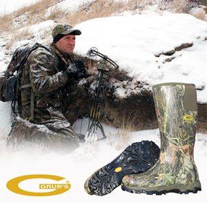 Утеплённые резиновые сапоги для рыбалки и охоты