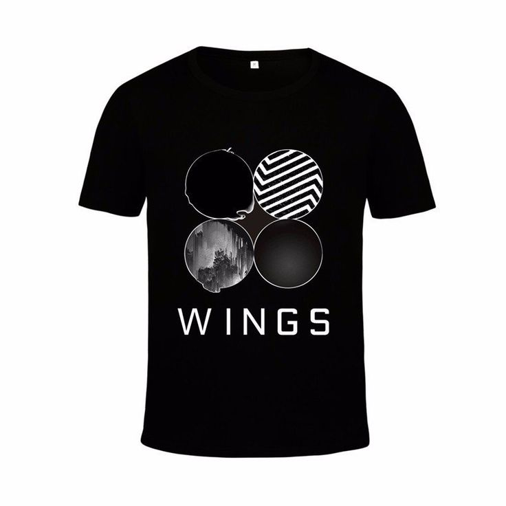 BTS Bangtan Boys Wings Album Official Logo Trendy Fashion Design T-shirt  #BTS #Bangtan #Boys #Wings #Album #Official #Logo #Trendy #Fashion #Design #Tshirt #Kidolstuff