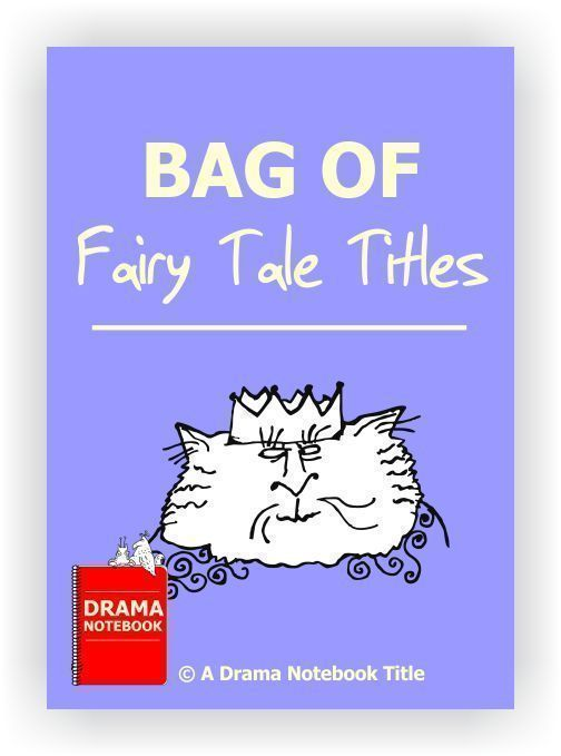 Use these sixteen original fairy tale titles as story prompts for monologues, short plays or skits. The titles are set up on the page so that they may be easily printed out, cut apart and put in a hat.