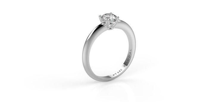 Alva Platinum Diamond ring