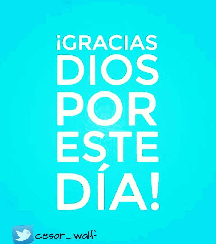 Agradecido con  #Dios #Amor para él
