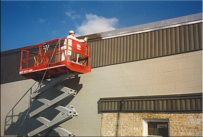 42 best commercial painting images on pinterest interior for Industrial painting service